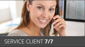Service client 7/7